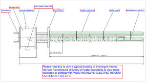 industrial immersion heater electric immersion heater immersion