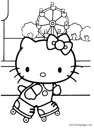 birthday hello kitty coloring pages hello kitty free printable