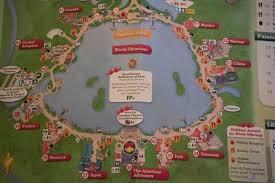 Epcot World Showcase Map Gift Ideas U2013 The Magical Escape