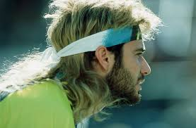 7 lessons andre agassi taught us about hair gq