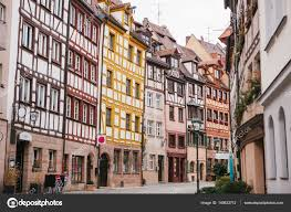 traditional house in the german style in nuremberg european