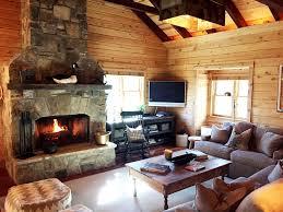 designer log cabin outdoor fire pit res vrbo