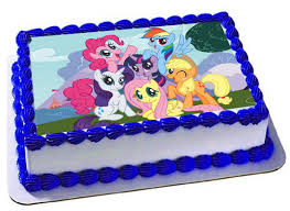 edible images for cakes my pony edible cake topper frosting sheet my