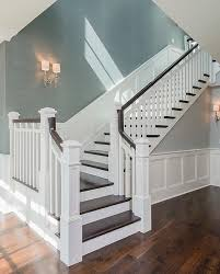 Masonite Wainscot Styling A Staircase Staircases Blog And Silk Wallpaper