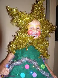 christmas tree homemade halloween costume photo 3 4