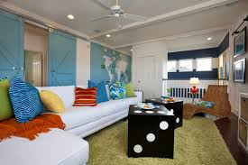 Fun Features For Family Rooms - Fun family room