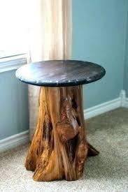 tree trunk end table stump end table entopnigeria com