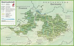 France Map With Cities by Canton Of Basel Landschaft Maps Switzerland Maps Of Canton Of