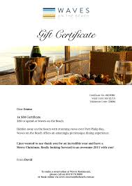 online restaurant gift cards waves restaurant online gift vouchers melbourne mornington