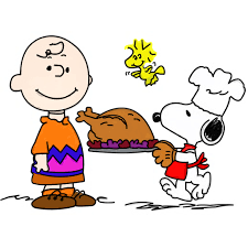 peanuts thanksgiving clipart clipartix