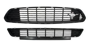 mustang grill emblems 2017 mustang california special lower front grille w