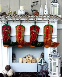 cowboy cowgirl christmas stockings personalized country western