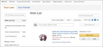 www wish list how to create and better manage wish lists