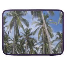 palm tree macbook air pro sleeves zazzle