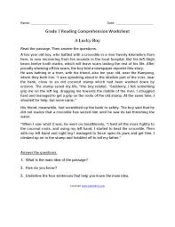reading worksheets seventh grade reading worksheets