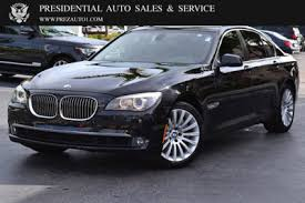 cheap bmw car leasing used bmw 7 series at presidential auto sales service and leasing