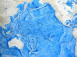 map with oceans floor relief maps detailed maps of sea and depths