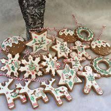 tree gingerbread ornaments ebay