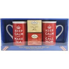 tea gift sets keep calm tea gift set 4 pc walmart