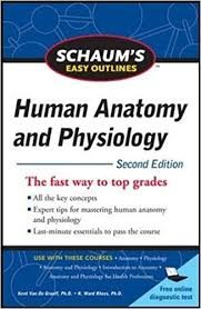 Human Anatomy And Physiology Courses Online Schaum U0027s Easy Outline Of Human Anatomy And Physiology Second