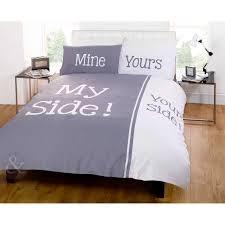 Duvet Covers M S Fun Bedtime Couple Humour Duvet Quilt Cover Ideal Bedding Bed