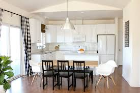 Kitchen With Wainscoting Kitchen Renovation Series Painting Our Kitchen Cabinets White