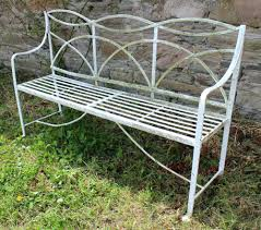 Antique Benches For Sale Vintage Wrought Iron Garden Furniture Uk Vintage Wrought Iron