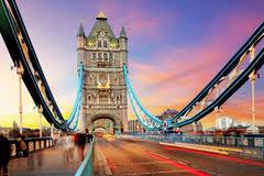 tower bridge london twilight wallpapers tower bridge and reflection at twilight london stock photo image