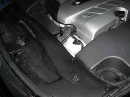 lexus rx 350 model change engine cover plastic rivets clublexus lexus forum discussion