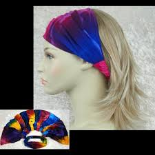wholesale headbands wholesale tie dye elastic bandana headband