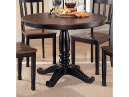 signature design by ashley owingsville round dining room table