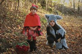 little red riding hood halloween costume toddler diy halloween kids costumes little red riding hood and wolf
