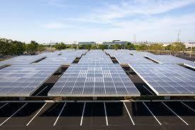 solar trees for solar powered evs