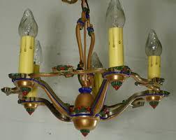 Rewiring An Old Chandelier Rewired Etsy