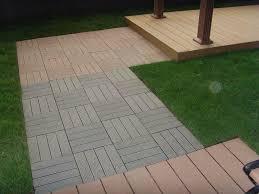 wood deck tiles for cozy rooftop bedroom ideas