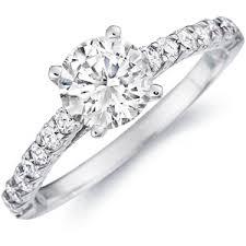 diamond studded diamond eternity engagement rings budget diamond engagement rings