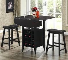 Round Pub Table Set Pub Table Set With Wine Rack Bar Stool Table With Wine Rack Modern