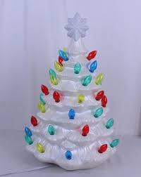 ceramic christmas tree with lights cracker barrel white glitter ice ceramic lighted christmas tree cracker barrel appx
