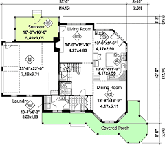 sunroom floor plans home plan with sunroom 80694pm architectural designs