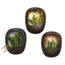 Wall Mounted Planters by Wall Hanging Planters Home Decorating Inspiration