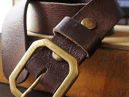 Handmade Belts And Buckles - handmade leather belts brown wrist