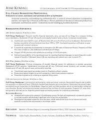 Tax Preparer Job Description For Resume by 27 Best Bookkeeper Resume For Job Description Vntask Com