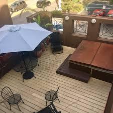 2nd floor balcony and jacuzzi yes please yelp