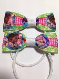 doc mcstuffins ribbon doc mcstuffins ribbon hair bows accessories baby girl fashion