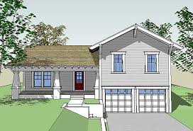 split level house with front porch plan w44067td craftsman split level e architectural design