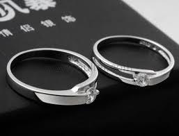 custom wedding rings 925 sterling silver zircon custom name engraved wedding rings for