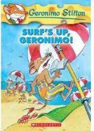 surf u0027s up geronimo by geronimo stilton scholastic