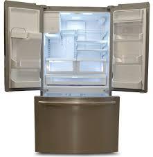 frigidaire glass door fridge frigidaire fghf2366pf counter depth refrigerator review reviewed