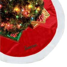 gorgeous personalized tree skirts add spirit