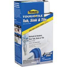 homax tough as tile epoxy tub u0026 tile spray paint walmart com